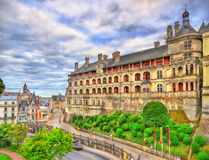 The Royal Castle of Blois in the Loire Valley, France Royalty Free Stock Image