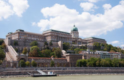 The royal castle in Budapest Stock Photography