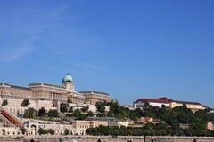 Royal castle Budapest cityscape Stock Photography