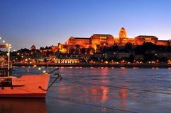 Royal Castle Budapest Stock Photo