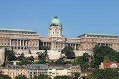 Royal castle Budapest landmark Royalty Free Stock Images