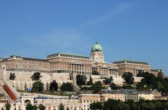 Royal castle Budapest Royalty Free Stock Photo