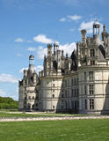 Royal castle Chambord. Royal french castle Chambord in Loire valley Stock Images