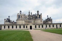 The royal Castle of Chambord Stock Image