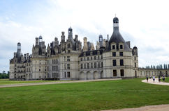 The royal Castle of Chambord Stock Photography