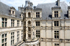 The royal Castle of Chambord Royalty Free Stock Photo