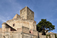 Castle of Collioure in France Royalty Free Stock Photography