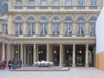 Royal castle courtyard Royalty Free Stock Photos