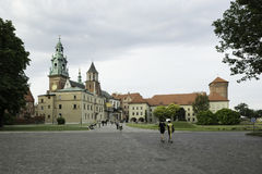 Royal Castle in Cracov Royalty Free Stock Image
