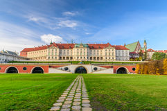 Royal Castle, a famous landmark in the Old Town of Warsaw Stock Photography
