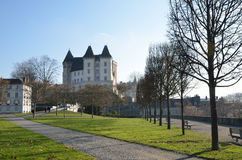 Royal castle in the French city Pau Royalty Free Stock Image
