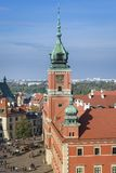 Royal Castle a historic monument in Warsaw Royalty Free Stock Image