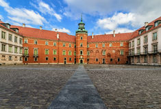 Royal Castle the inner yard, Warsaw Royalty Free Stock Photography