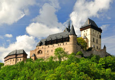 Royal castle Karlstejn Stock Images