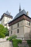 Royal castle Karlstejn Stock Image