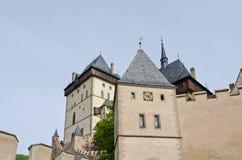 Royal castle Karlstejn Royalty Free Stock Photo