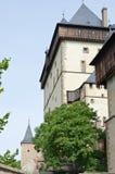 Royal castle Karlstejn Stock Photos