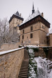 Royal castle Karlstejn, Czech Republic Stock Image