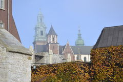 Royal Castle, Krakow Royalty Free Stock Photo