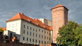 Royal Castle in Krakow, Poland Stock Photography