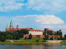 Royal castle, Krakow, Poland Stock Photos