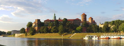 Wawel Royal Castle Krakow Royalty Free Stock Photos