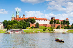 Royal castle in Krakow - Wawel Royalty Free Stock Photography