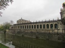 Royal Castle Museum Zwinger of Dresden, Germany. stock image