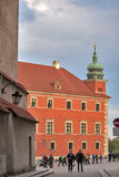 Royal Castle in Old Town Warsaw Poland Royalty Free Stock Photo
