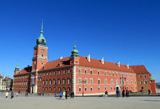Royal Castle in Poland capital city, Warsaw Stock Image