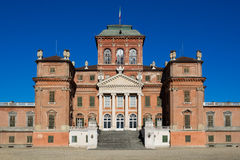 Royal castle of Racconigi, Piedmont, Italy. Royalty Free Stock Photos