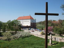 Royal castle, Sandomierz, Poland Royalty Free Stock Photo