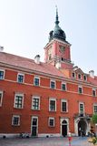 Royal Castle. The seat of Polish kings, historic building, rebuilt after the war, the historic castle royalty free stock photo