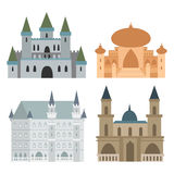Royal Castle, set Royalty Free Stock Photos