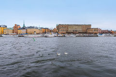 Royal Castle in Stockholm Stock Photography