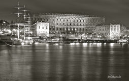 The Royal Castle in Stockholm Stock Image