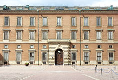 Royal castle in Stockholm stock image