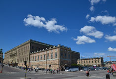 The Royal Castle in Stockholm, Sweden Stock Photo