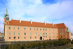 Royal Castle in Warsaw. Stock Photos
