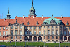 Royal Castle in Warsaw Royalty Free Stock Photos