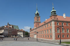 Royal Castle in Warsaw Royalty Free Stock Photo