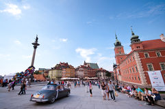 Royal Castle in Warsaw Stock Image