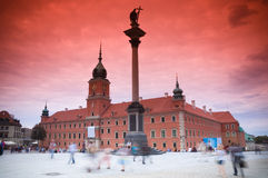 Royal Castle, Warsaw Stock Images