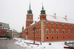 Royal castle in Warsaw. Royalty Free Stock Photo