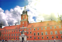 Royal Castle in Warsaw. View of Royal Castle in Warsaw Poland stock photography