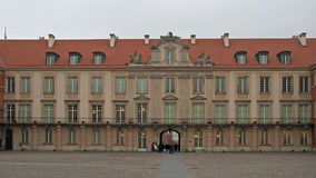 Royal Castle in Warsaw, capital of Poland Royalty Free Stock Photo