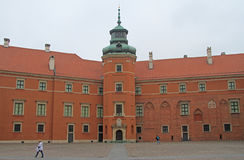 Royal Castle in Warsaw, capital of Poland Stock Photos