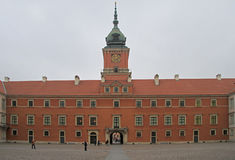 Royal Castle in Warsaw, capital of Poland Royalty Free Stock Photography