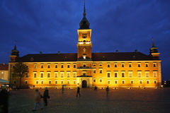 Royal Castle in Warsaw Stock Photography