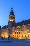 Poland at night - Warsaw Royalty Free Stock Image